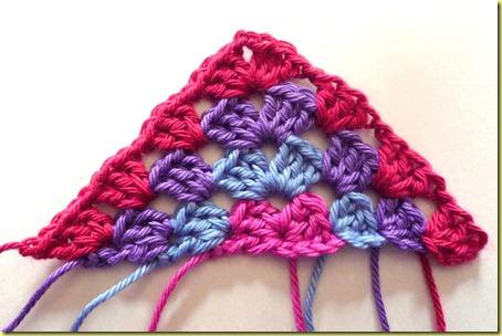 driehoek granny square