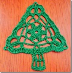 gehaakte kerstboom