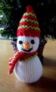 Sneeuwpop breien