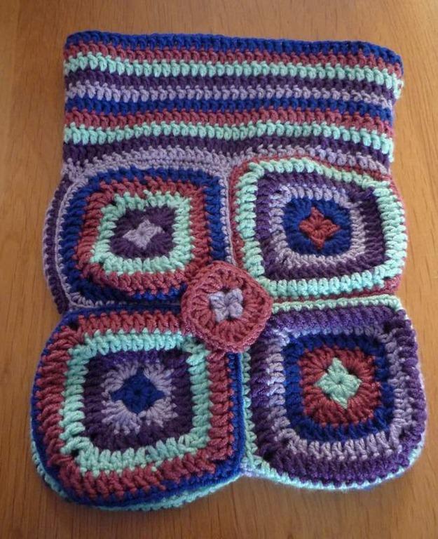 Granny square tas