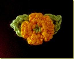 gehaakte bloem