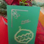 Handwerk-kerstkaarten