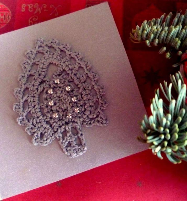 Handwerk Kerstkaarten Blij Met Draadjes