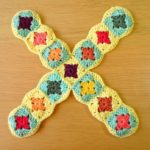 Serie 2: X,Y,Z, granny square letters
