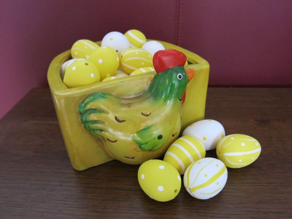 Omgehaakte eieren