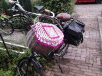 Dekje voor een fietsmandje