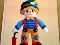 Gebreide clown