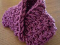 Möbius-sjaalkraag voor Barbie haken