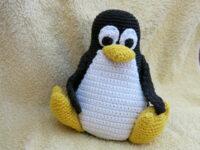 Gehaakte Pinguïn Tux