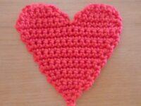 Vlaggetjeslijn hart